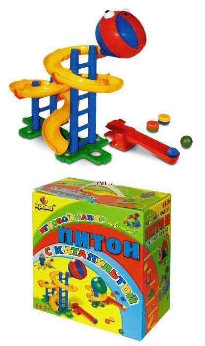 Детский конструктор Питон с катапультой - Конструкторы Bauer Кроха (для малышей), артикул: 21636