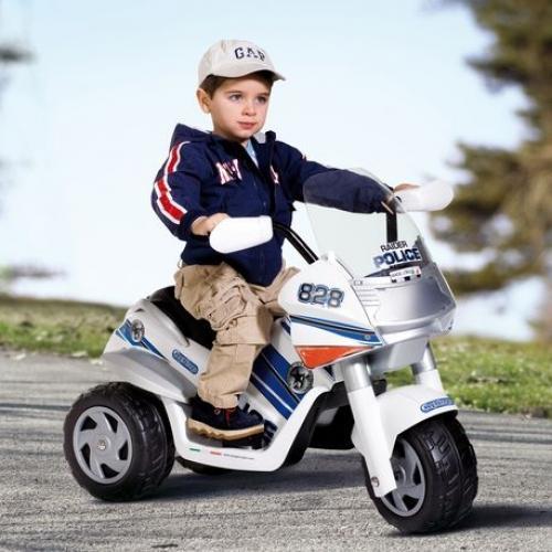 Детский электромотоцикл Raider Police - Мотоциклы детские на аккумуляторе, артикул: 28801