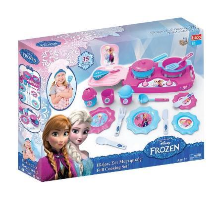 Игровой кухонный набор - Холодное сердцеАксессуары и техника для детской кухни<br>Игровой кухонный набор - Холодное сердце<br>