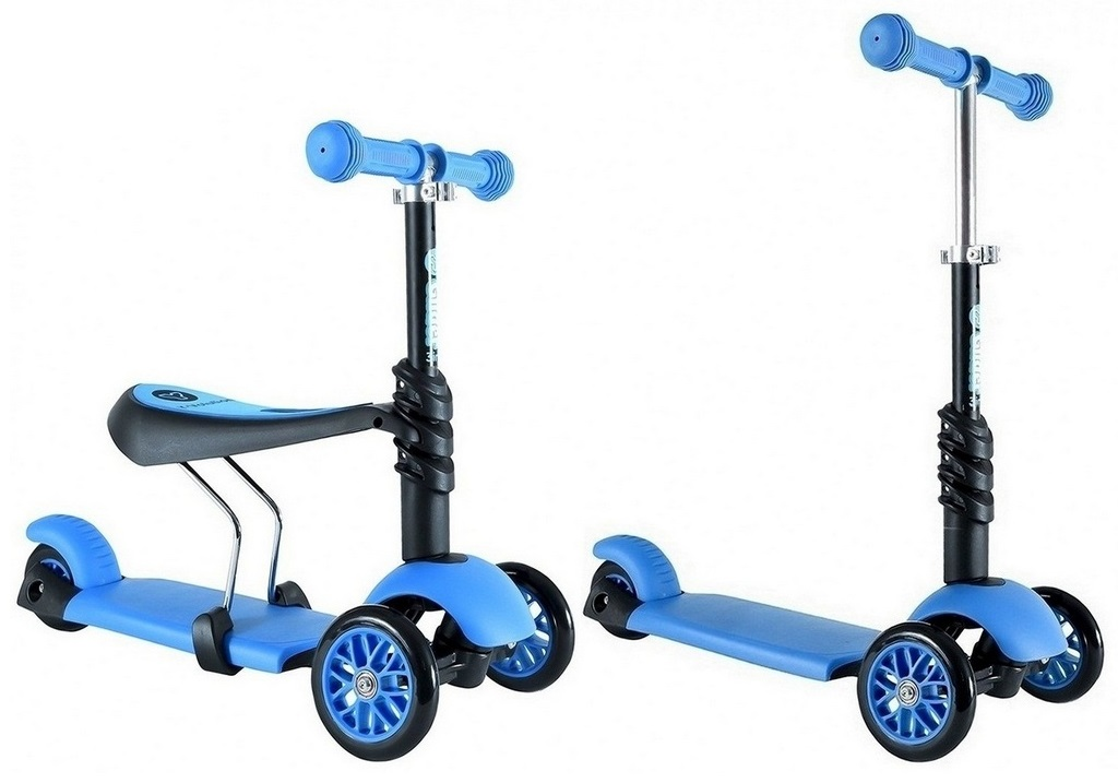 Самокат-каталка Glider Seat blueМашинки-каталки для детей<br>Самокат-каталка Glider Seat blue<br>