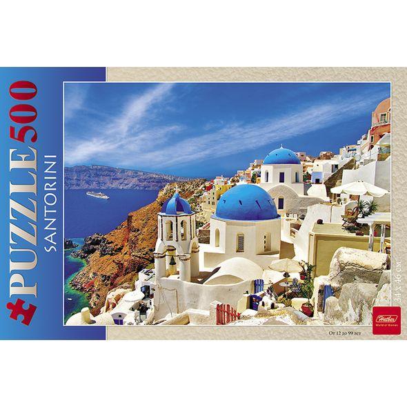 Пазл 500 элементов размер 46 х 34 см – Санторини фото