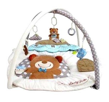 Коврик развивающий игровой - МишуткаДетские развивающие коврики для новорожденных<br>Коврик развивающий игровой - Мишутка<br>