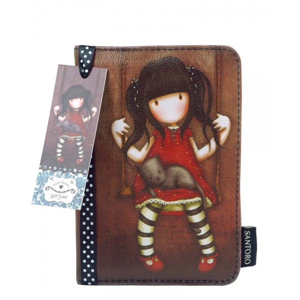 Обложка на паспорт - Ruby из серии GorjussGorjuss Santoro London<br>Обложка на паспорт - Ruby из серии Gorjuss<br>