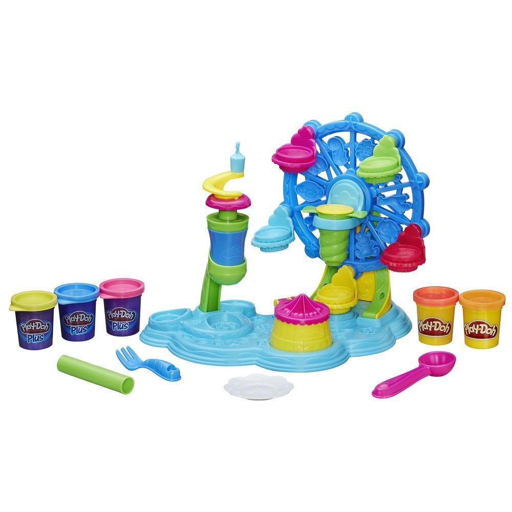 Игровой набор Play-Doh Карнавал сладостейПластилин Play-Doh<br>Игровой набор Play-Doh Карнавал сладостей<br>