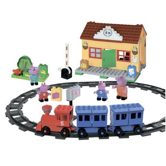 Peppa Pig. Железнодорожная станцияСвинка Пеппа Peppa Pig<br>Peppa Pig. Железнодорожная станция<br>