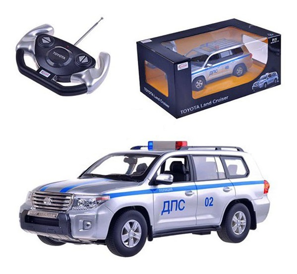 Toyota Land Cruiser 200 ДПС, масштаб 1:16Машины на р/у<br>Toyota Land Cruiser 200 ДПС, масштаб 1:16<br>