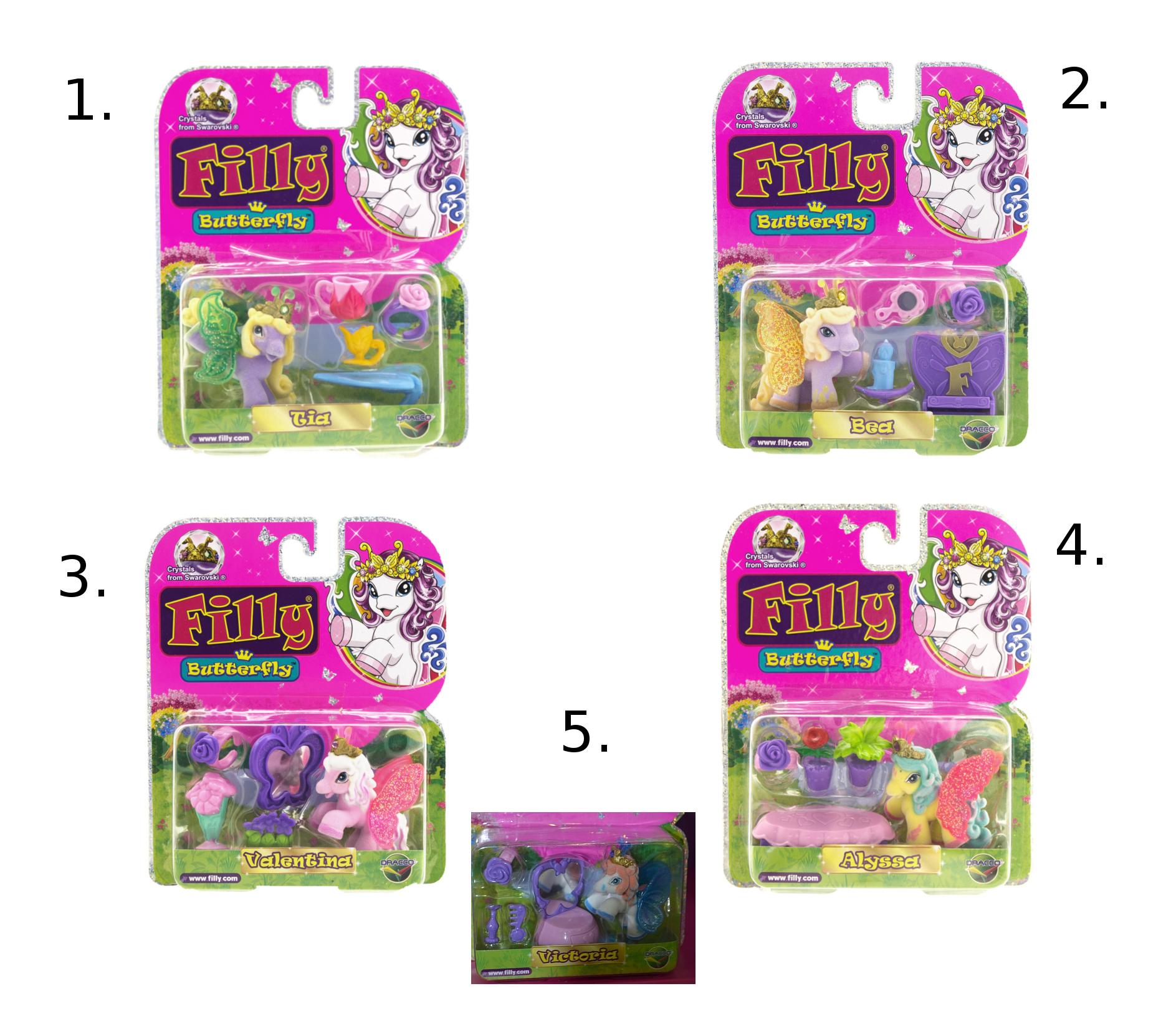 Набор игровой «Filly» - Бабочки с блестками, фигурка с аксессуарамиЛошадки Филли Filly Princess<br>Набор игровой «Filly» - Бабочки с блестками, фигурка с аксессуарами<br>