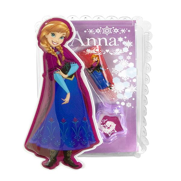 Набор детской декоративной косметики Анна из серии FrozenЮная модница, салон красоты<br>Набор детской декоративной косметики Анна из серии Frozen<br>