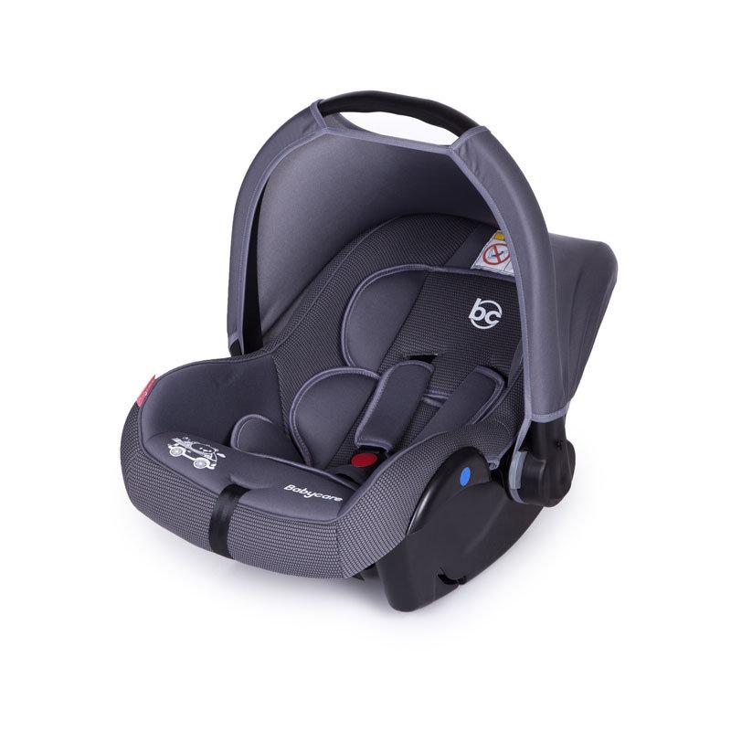 Детское автомобильное кресло Baby Care Lora – гр. 0+, 0-13 кг. – от 0 до 1,5 лет - Серый/СерыйАвтокресла (0-25кг)<br>Детское автомобильное кресло Baby Care Lora – гр. 0+, 0-13 кг. – от 0 до 1,5 лет - Серый/Серый<br>