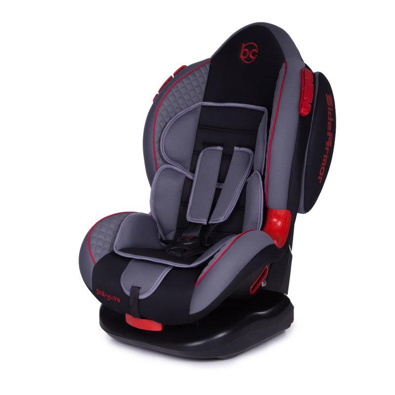 Детское автомобильное кресло Baby Care Polaris группа I/II - 9-25 кг - 1-7 лет - Серый/Черный от Toyway