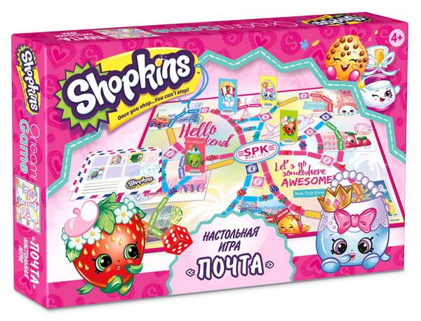 Настольная игра Shopkins - ПочтаShopkins (Шопкинс)<br>Настольная игра Shopkins - Почта<br>