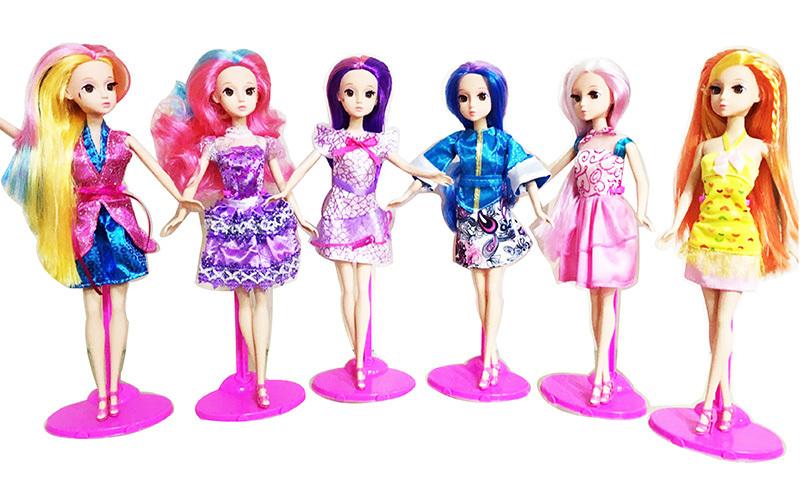 Кукла Модница, 30 см., в наборе с аксессуарами, 6 видовПупсы<br>Кукла Модница, 30 см., в наборе с аксессуарами, 6 видов<br>