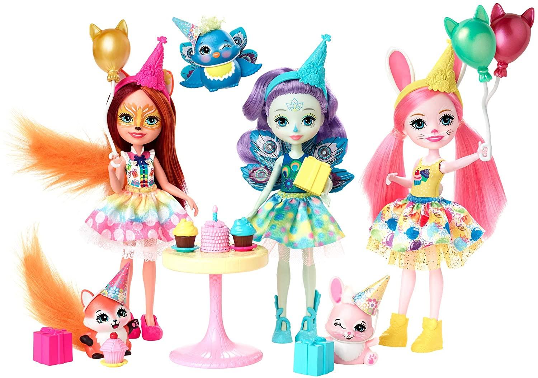 Игровой набор Enchantimals - День рождения Mattel
