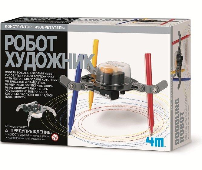 Набор для развития детей - Робот художник, 4M  - купить со скидкой