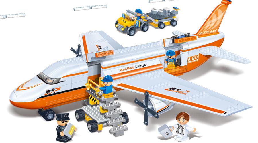 Большой аэробус - Самолеты, службы спасения, артикул: 98266
