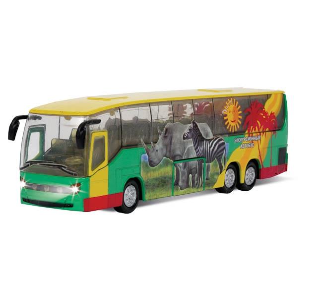 Автобус экскурсионный - Сафари-2, инерционный, свет, звук, Технопарк  - купить со скидкой