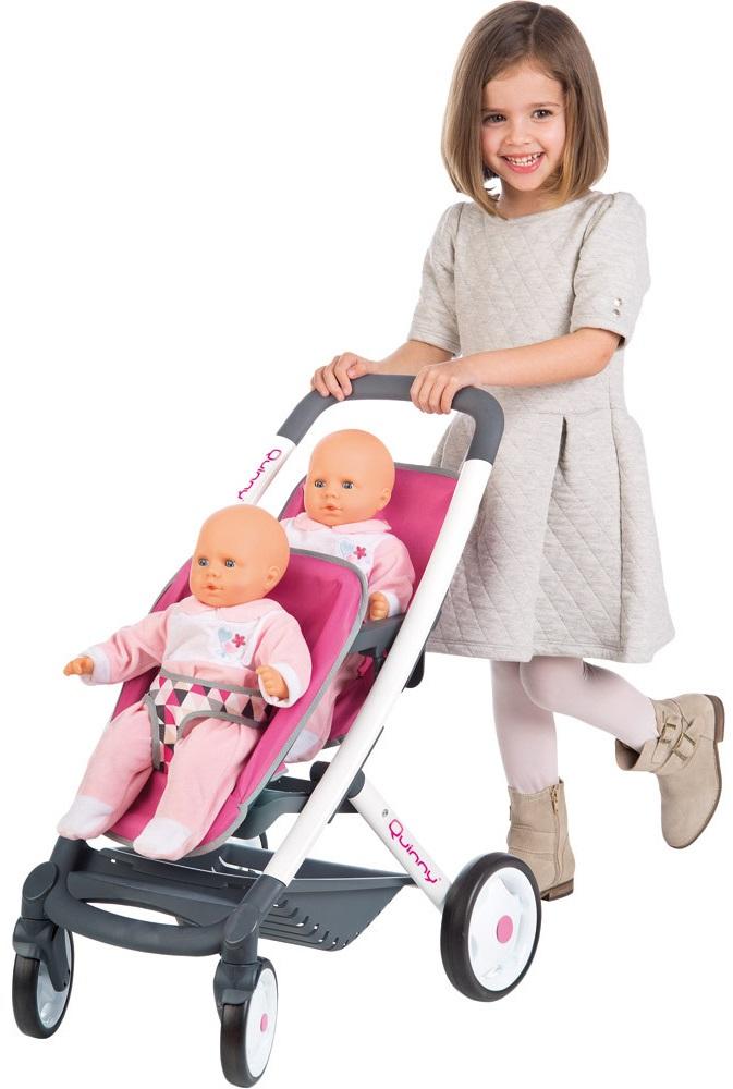 ... Smoby MC Quinny Прогулочная коляска для 2-х кукол 253297 Урай товары б.у f9553acb678