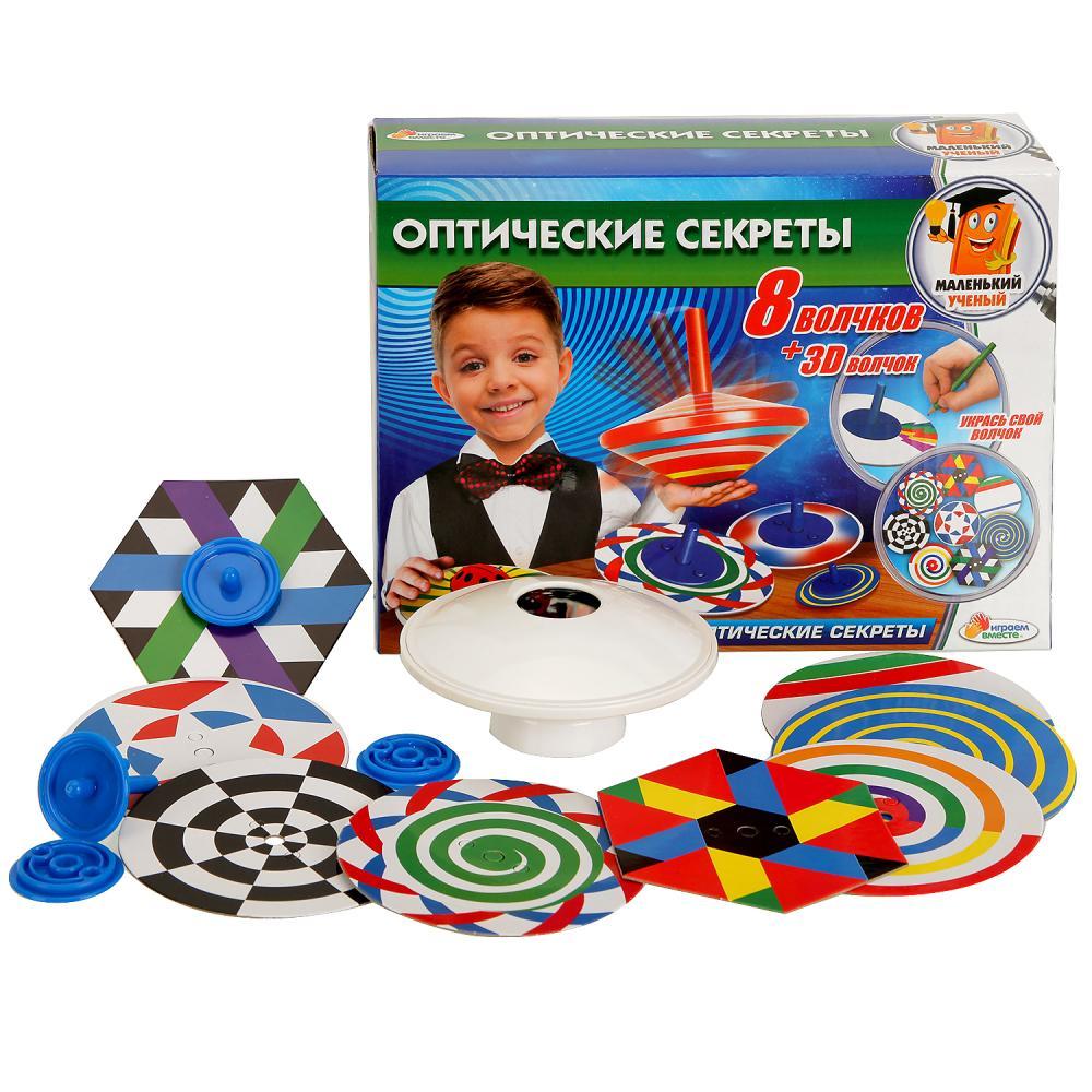 Купить Набор из серии Маленький ученый - Оптические секреты, Играем вместе