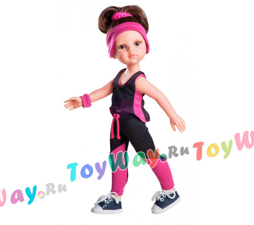 Кукла Кэрол тренер, 32 см.Испанские куклы Paola Reina (Паола Рейна)<br>Кукла Кэрол тренер, 32 см.<br>