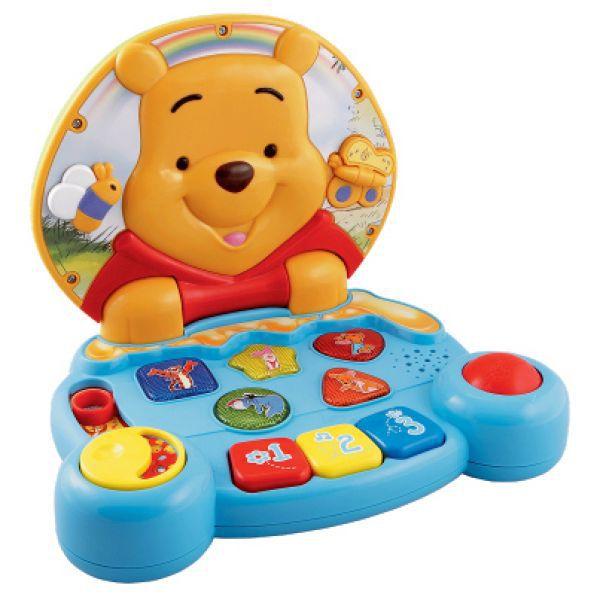 Развивающая игрушка – Компьютер Винни Дисней для самых маленькихДетский обучающий компьютер<br>Развивающая игрушка – Компьютер Винни Дисней для самых маленьких<br>