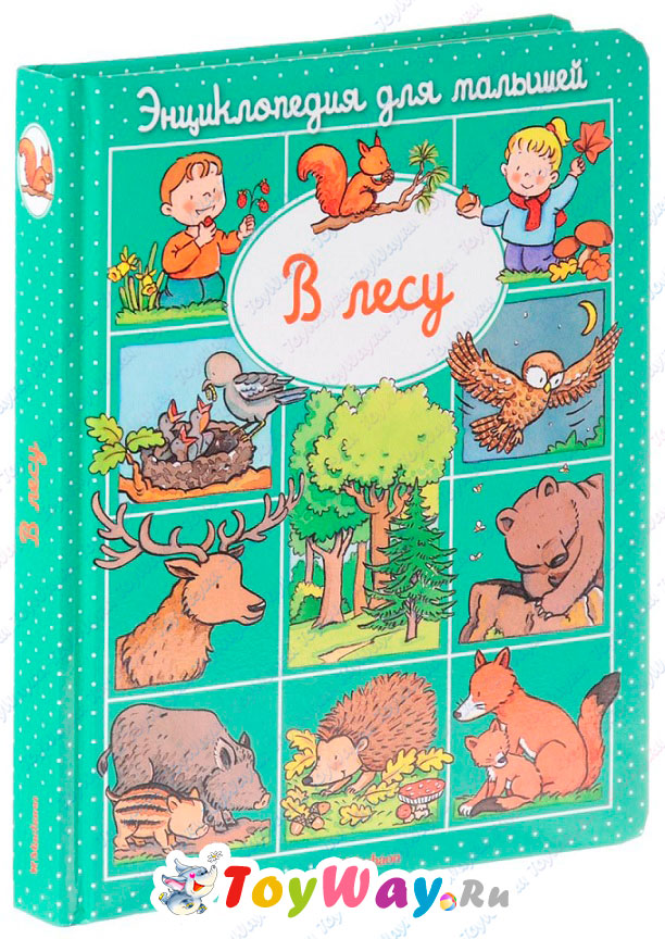 Купить Энциклопедия для малышей Бомон Э. «В лесу» в пухлой обложке, Махаон