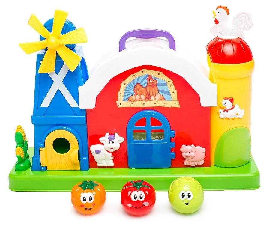 Купить Развивающий центр «Ферма с мельницей» Kiddieland, KID 051672