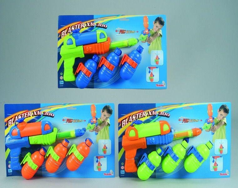 Водяной автоматВодяные пистолеты<br>Водяной автомат с помпой для накачки воздуха и запасными балончиками для заправки водой...<br>