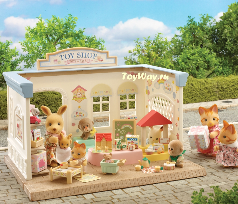 Sylvanian Families - Магазин игрушекПокупки и Продукты<br>Sylvanian Families - Магазин игрушек<br>