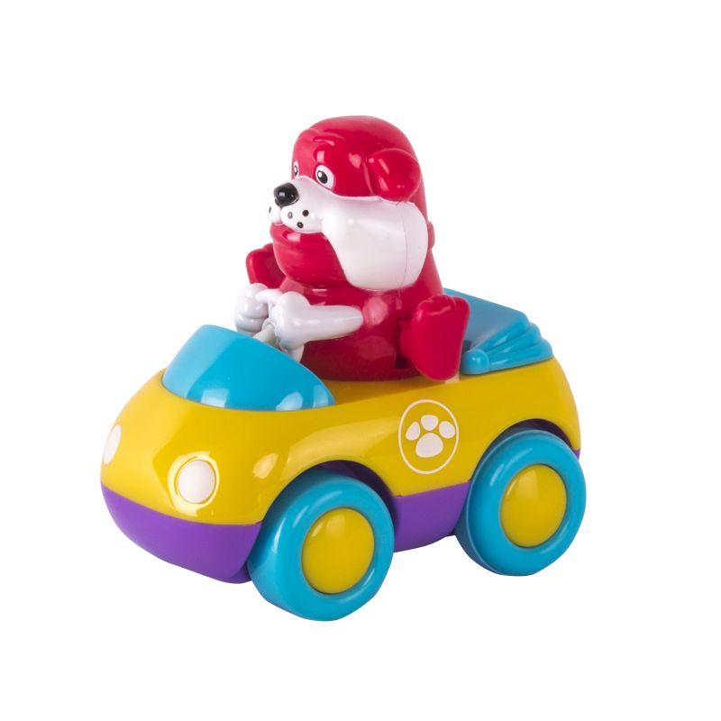 Зверушки на колесиках - БульдогМашинки для малышей<br>Зверушки на колесиках - Бульдог<br>
