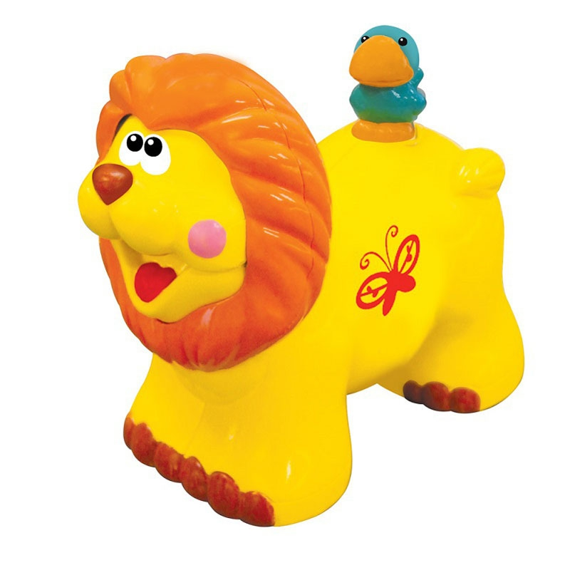 Развивающая игрушка - каталка «Львенок»