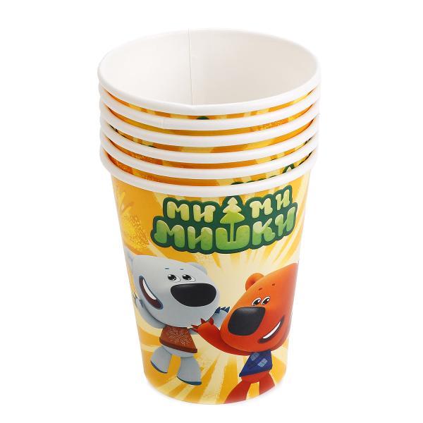 Купить Набор бумажных стаканчиков Мими Мишки, 6 штук, Веселый праздник