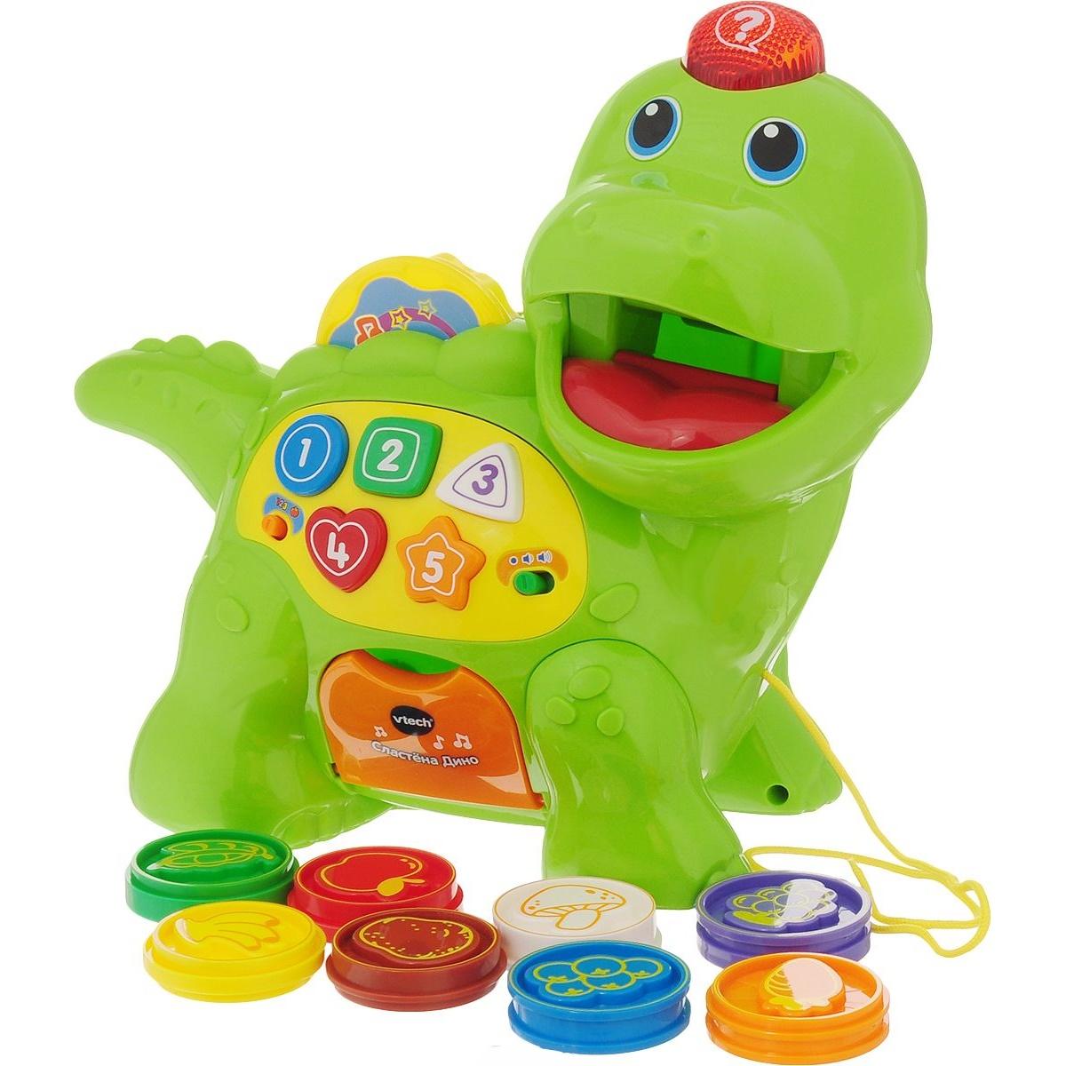 Купить Развивающая игрушка – Сластена Дино, свет и звук, Vtech