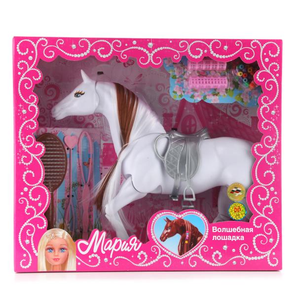 Лошадка «Мария», 29 см, с аксессуарами для волос
