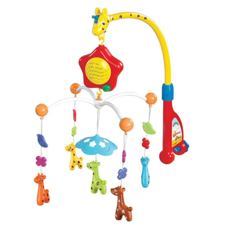 Музыкальная карусель – Жираф - Мобили и музыкальные карусели на кроватку, игрушки для сна, артикул: 166270