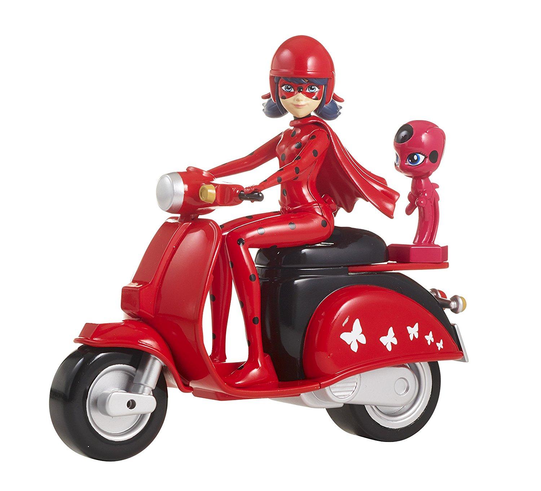 Купить Игровой набор Miraculous – Леди Баг на скутере, Bandai