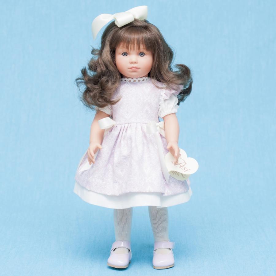 Кукла Нелли в бело-розовом платье, 43 см.Куклы ASI (Испания)<br>Кукла Нелли в бело-розовом платье, 43 см.<br>