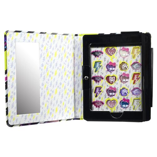 Игровой набор детской декоративной косметики в чехле для планшета – Monster HighЮная модница, салон красоты<br>Игровой набор детской декоративной косметики в чехле для планшета – Monster High<br>