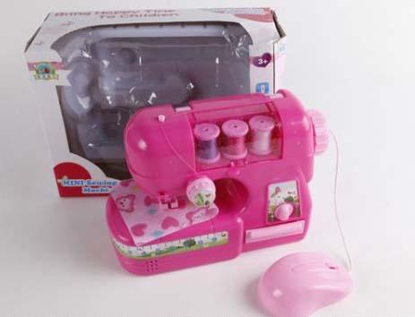 Купить Швейная машинка с аксессуарами, свет и звук