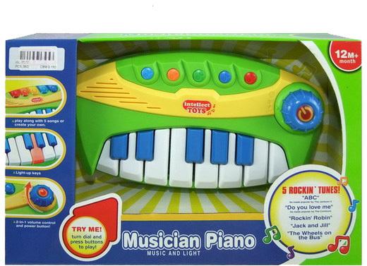 Пианино для малышей со звуковыми и световыми эффектамиСинтезаторы и пианино<br>Пианино для малышей со звуковыми и световыми эффектами<br>
