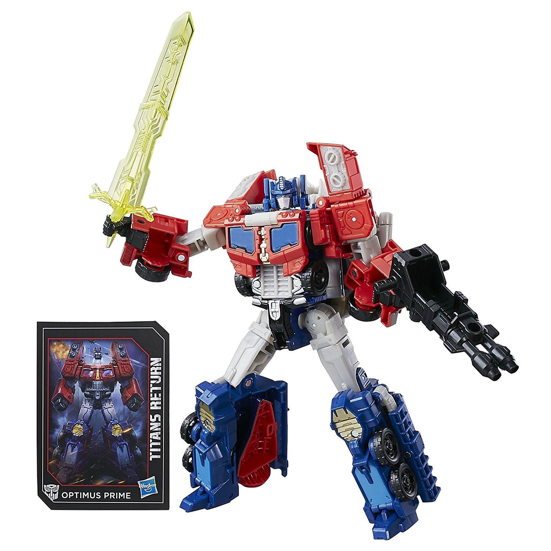 Трансформер 3 в 1 Войны Титанов - Diac и Optimus PrimeТрансформеры 5: Последний рыцарь<br>Трансформер 3 в 1 Войны Титанов - Diac и Optimus Prime<br>