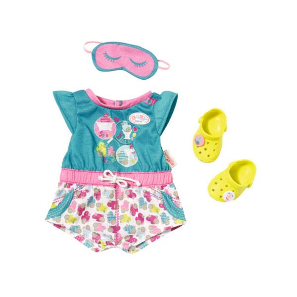 Одежда для куклы Baby Born - Пижамка с обувьюОдежда Baby Born <br>Одежда для куклы Baby Born - Пижамка с обувью<br>