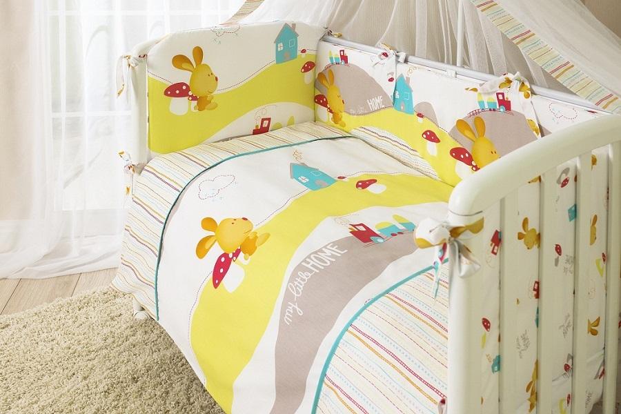 Комплект постельного белья для детей Perina™ – КрохаДетское постельное белье<br>Комплект постельного белья для детей Perina™ – Кроха<br>