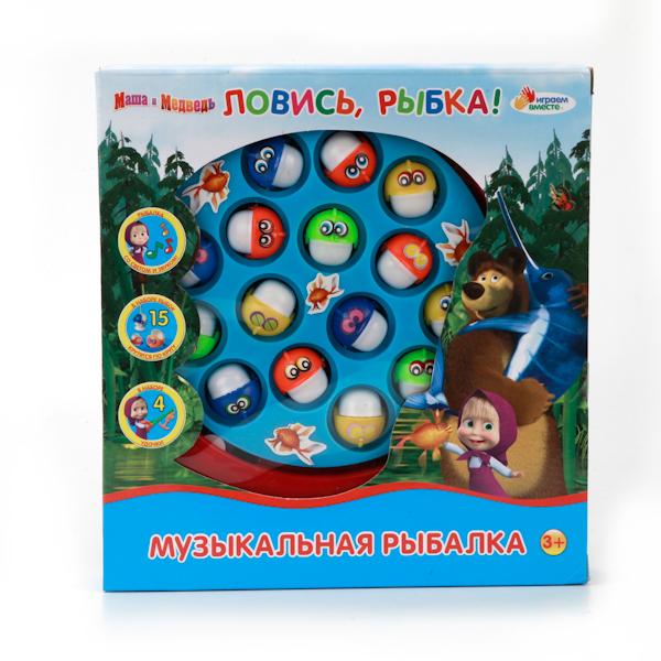 Игра «Ловись, рыбка!» из серии Маша и МедведьДля самых маленьких<br>Игра «Ловись, рыбка!» из серии Маша и Медведь<br>