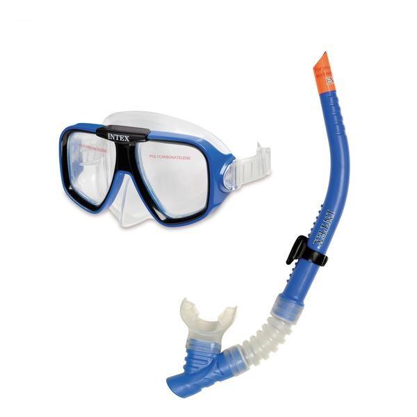 Детская маска для плавания с трубкой - Reef Rider SwimМаски, ласты, трубки для плавания<br>Детская маска для плавания с трубкой - Reef Rider Swim<br>