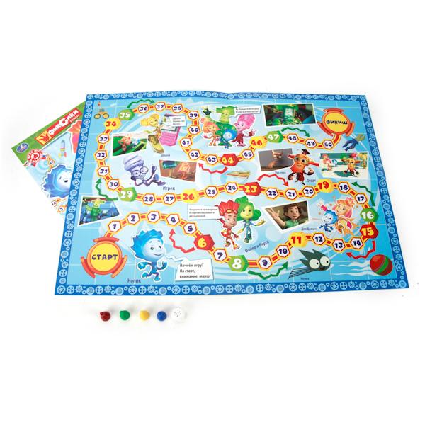 Настольная игра-ходилка – Фиксики, в блистере малого формата от Toyway