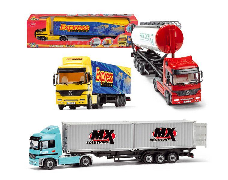 Машина грузовик – трейлер - Машины, артикул: 9512