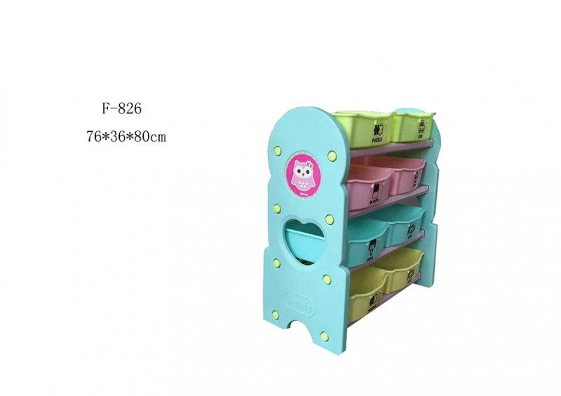 Этажерка для игрушек - Совушки
