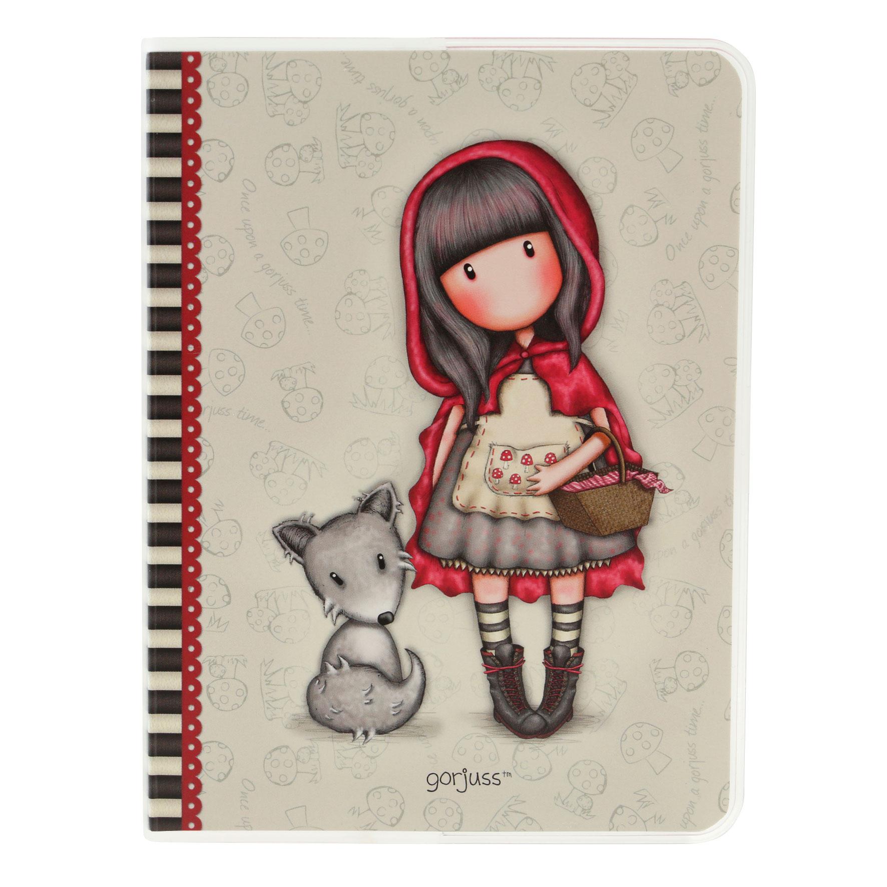 Купить Блокнот формата А6 – Little Red Riding Hood, Santoro London