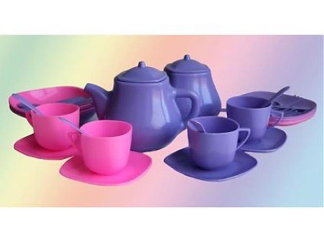 Детский кухонный набор посуды – Мальвина, в сумкеАксессуары и техника для детской кухни<br>Детский кухонный набор посуды – Мальвина, в сумке<br>