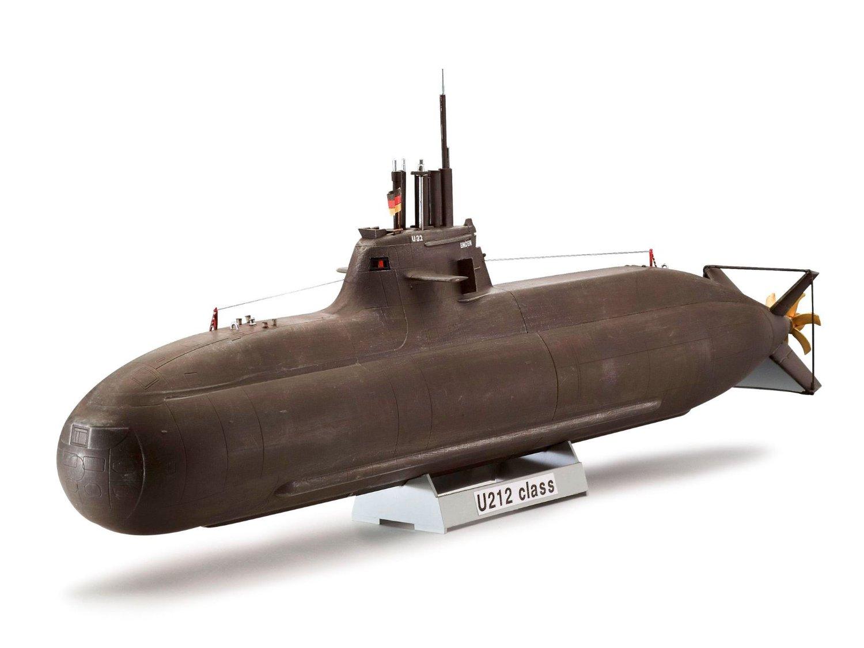 Сборная модель - Новейшая немецкая подводная лодка класса U212AМодели кораблей для склеивания<br>Сборная модель - Новейшая немецкая подводная лодка класса U212A<br>